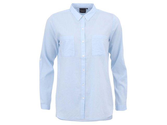Světle modrá delší košile b.young Gippo