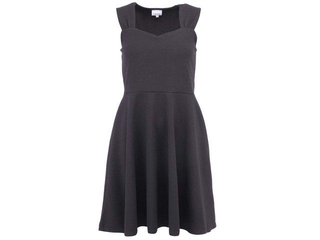 Tmavě šedé šaty b.young Romille