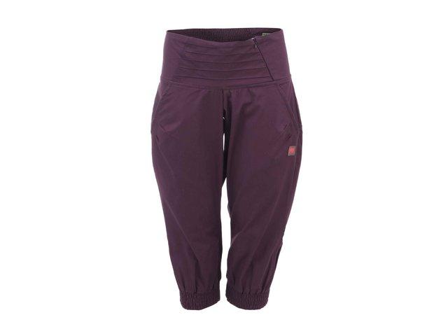 Fialové dámské kalhoty ke kolenům Tranquillo La Gomera