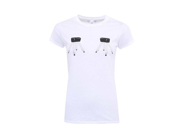 Bílé dámské tričko ZOOT Originál Skákej