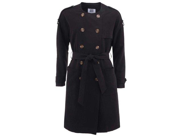Černý kabát Vero Moda Donate