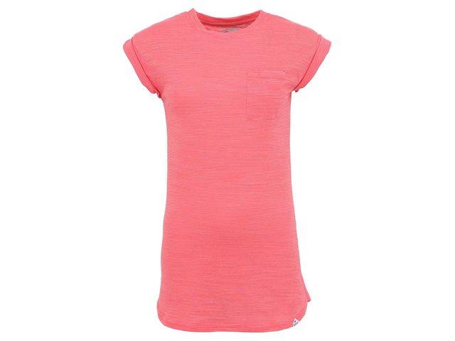 Korálové dámské delší tričko Bellfield Natalie