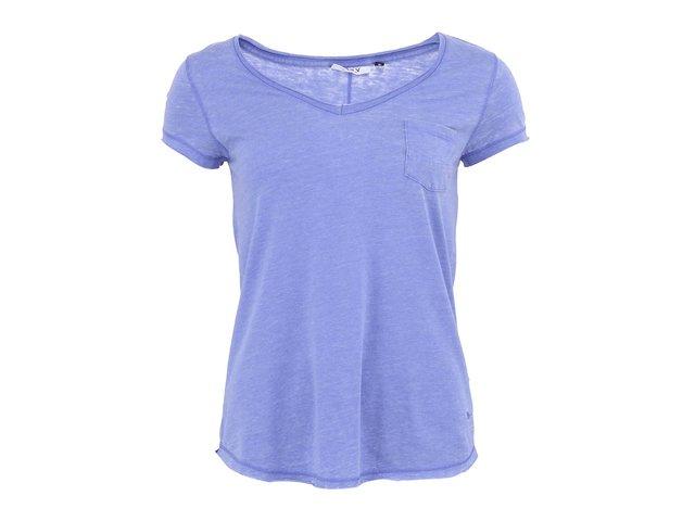 Modré tričko s kapsou ONLY Indie