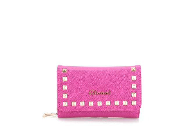Růžová peněženka Gionni Clio