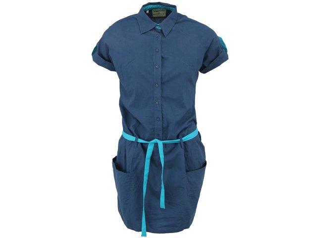 Modré košilové šaty Tranquillo Verona