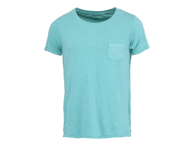 Zelené triko s kapsou Dstrezzed