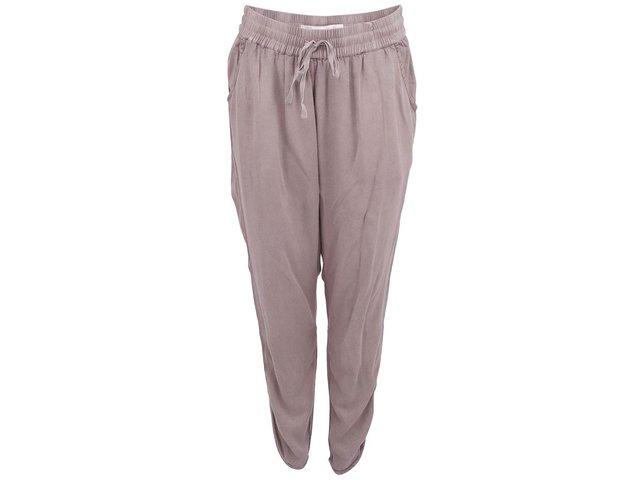 Světle hnědé dámské kalhoty YAYA