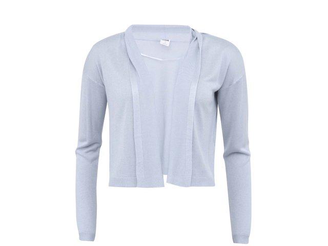 Světle modrý kratší cardigan Vero Moda Svala Meghan