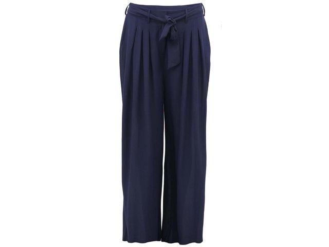 Tmavě modré kalhoty Vero Moda Nia