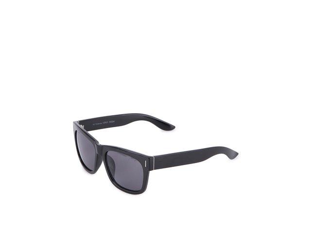 Černé lesklé sluneční brýle Vero Moda Peat