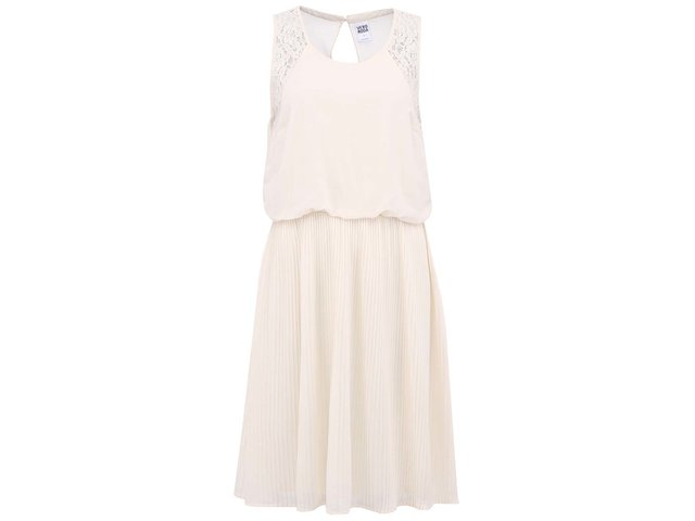 Krémové volné šaty Vero Moda Jasmine