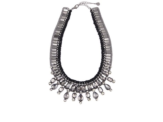 Platinový proplétaný náhrdelník Pieces Joli