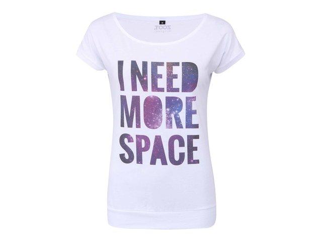 Bílé dámské tričko ZOOT Originál I Need More Space