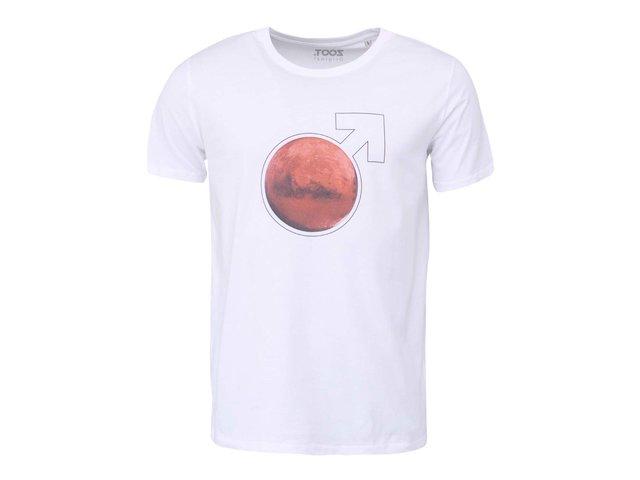 Bílé pánské tričko ZOOT Originál Mars