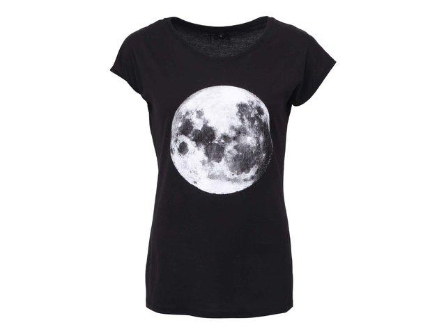 Černé dámské tričko ZOOT Originál Moon