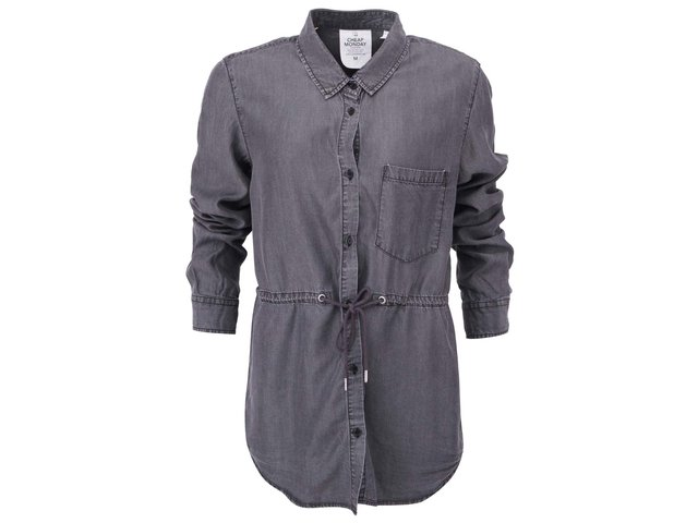 Černá dámská košile se sepraným vzhledem Cheap Monday Gather