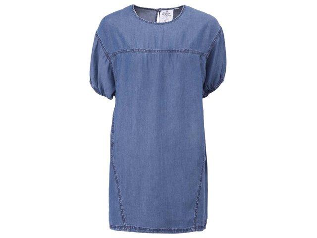 Modré džínové volnější šaty Cheap Monday Swell