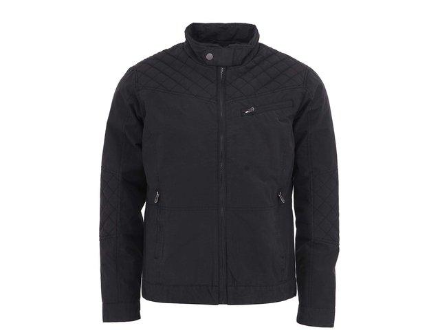 Černá bunda s prošívanými detaily !Solid Marek