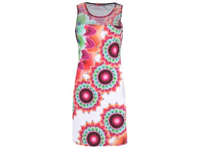 Barevné šaty s potiskem Desigual Adriana Rep