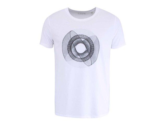 Bílé pánské triko s černým spirografem ZOOT Originál