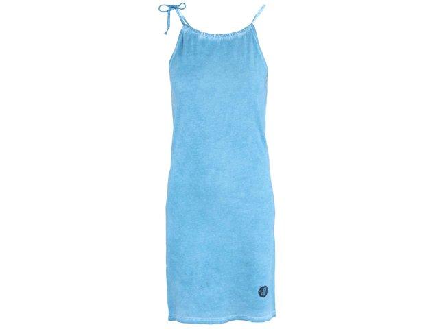 Modré šaty se zavazováním kolem krku  Horsefeathers Erin