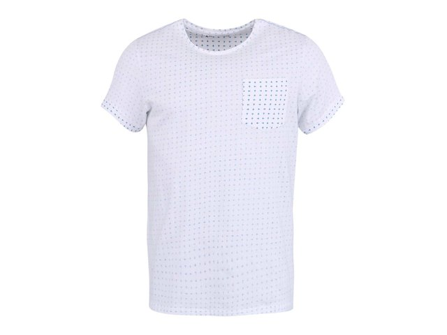 Bílé vzorované triko Casual Friday by Blend