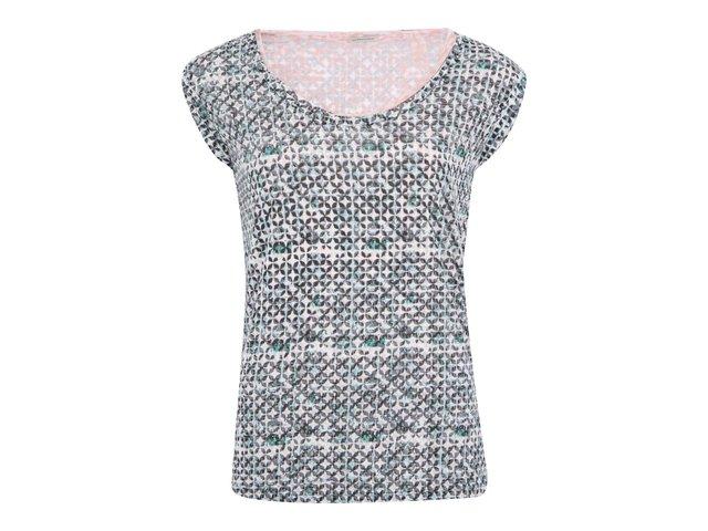 Zelené/růžové oboustranné tričko Maison Scotch