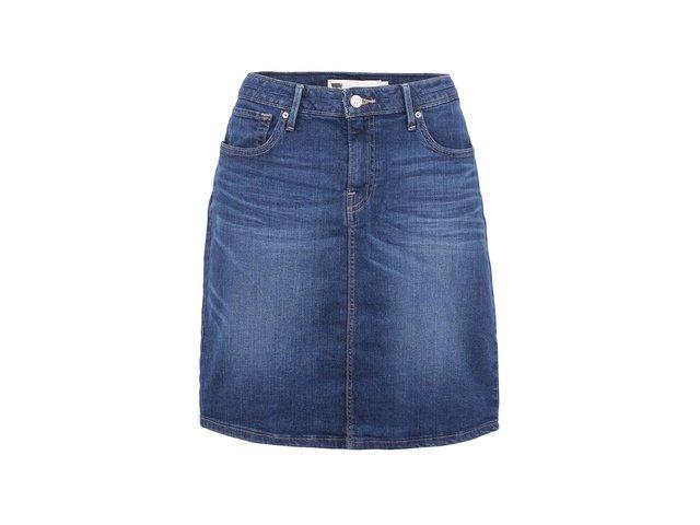 Tmavě modrá džínová sukně Levi's®