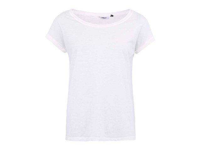 Bílé tričko ONLY Truly