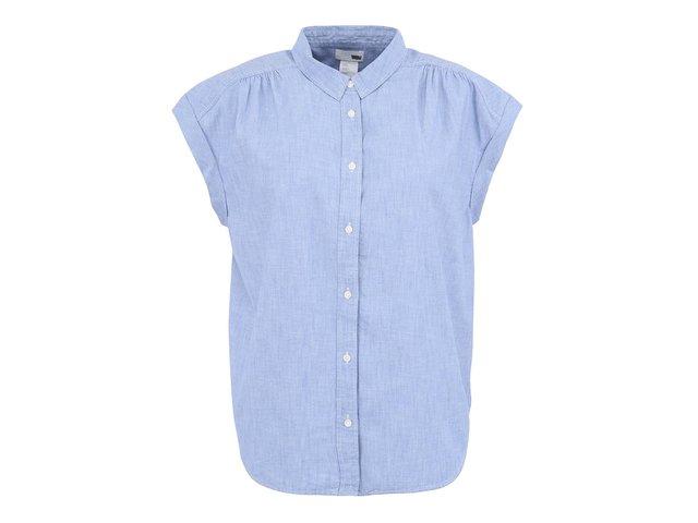 Světle modrá dámské košile s krátkými rukávy Levi's®