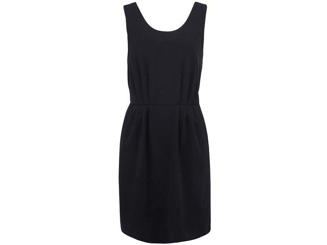 Černé šaty Vero Moda Caroline