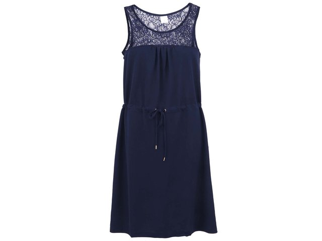 Tmavě modré šaty Vero Moda Zana