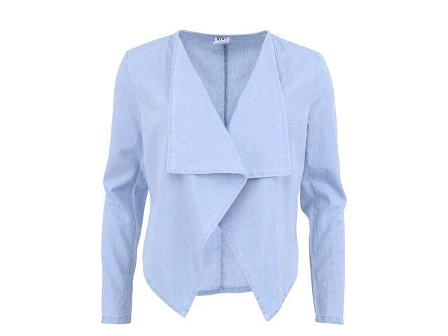 Světle modrý blejzr Vero Moda Just Dalian