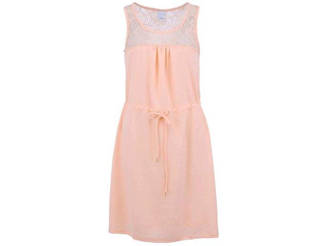 Meruňkové šaty Vero Moda Zana