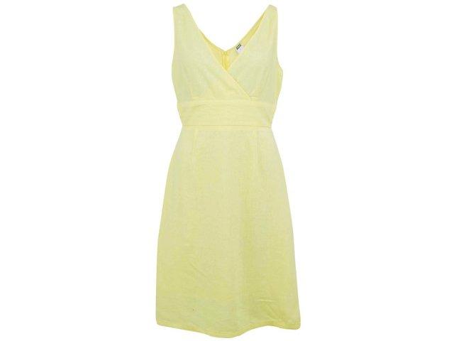 Žluté šaty Vero Moda Just Josephine