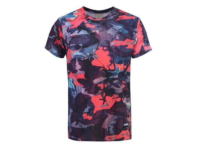 Barevné pánské triko s potiskem Eleven Paris Harel