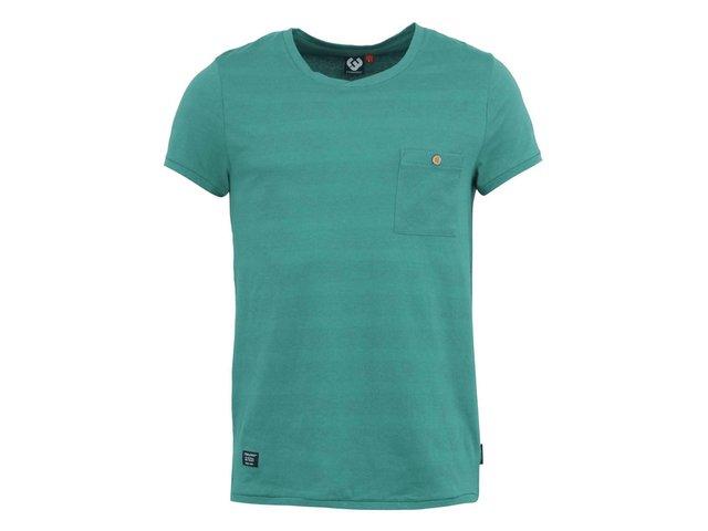 Zelené pánské triko Ragwear Franky