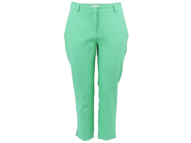 Zelené osminkové kalhoty Almari
