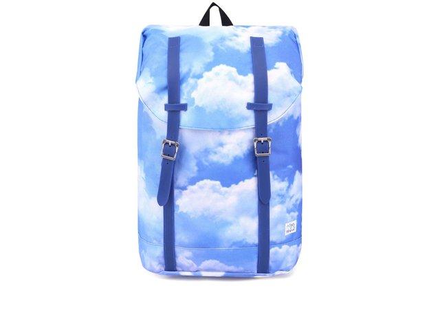 Modro-bílý unisex batoh Spiral Cloud Hampton