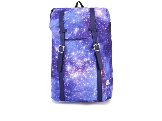 Modrý unisex batoh Spiral Galaxy Hampton