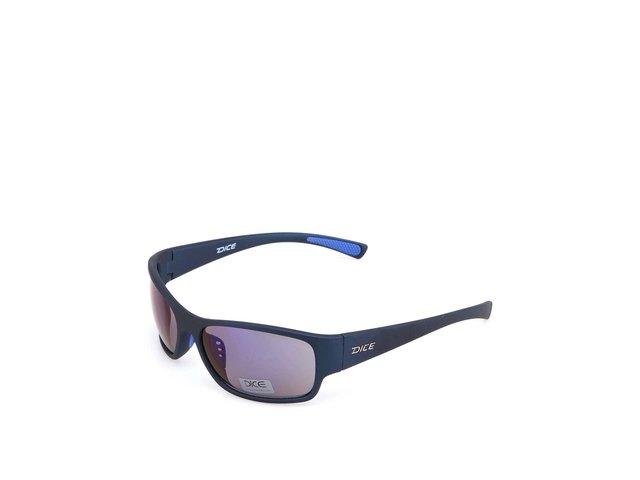 Tmavě modré sportovní sluneční brýle Dice Plastic Sports