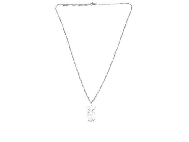 Ocelový náhrdelník s přívěskem ve tvaru ananasu Lady Muck