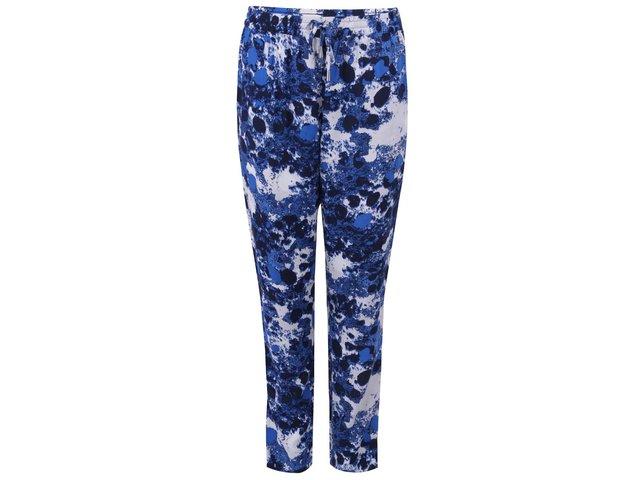Tmavě modré vzorované kalhoty ONLY Choice