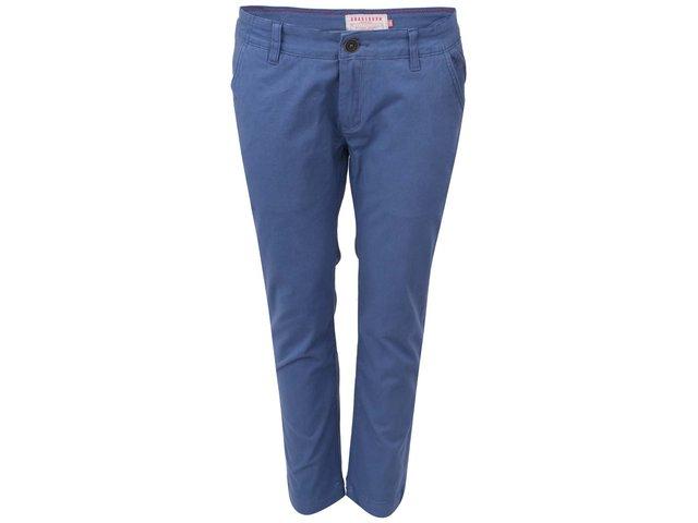 Modré chino kalhoty Brakeburn Savannah