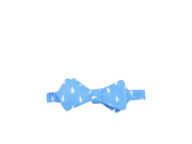 Modrý vázací motýlek Krispol Store Plachetnice