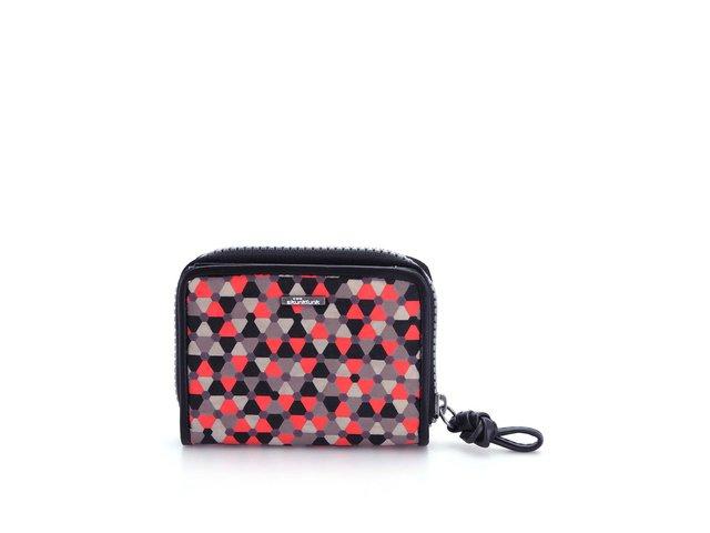 Černá peněženka s barevným vzorem Skunkfunk Fonda