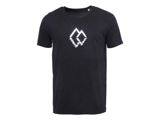 Černé pánské triko s trojúhelníky ZOOT Originál