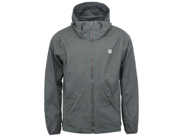 Khaki pánská bunda s kapucí Bench Industrious