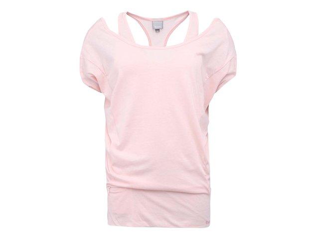 Meruňkové dámské volnější tričko Bench Hirising