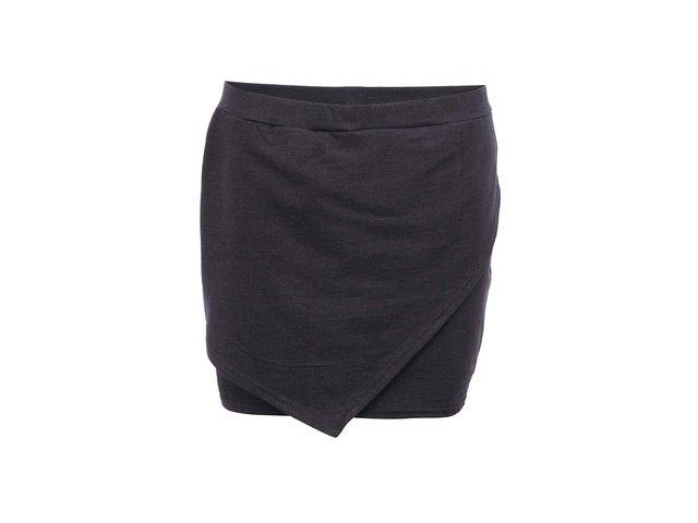 Černá bavlněná sukně Bench Mbabane
